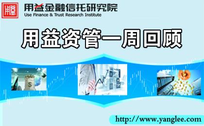 用益-资管市场周评:国金证券将设立资管子公司 渤海理财获批筹建
